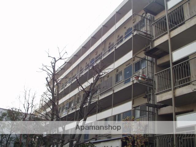 神奈川県川崎市中原区、向河原駅徒歩4分の築44年 4階建の賃貸マンション