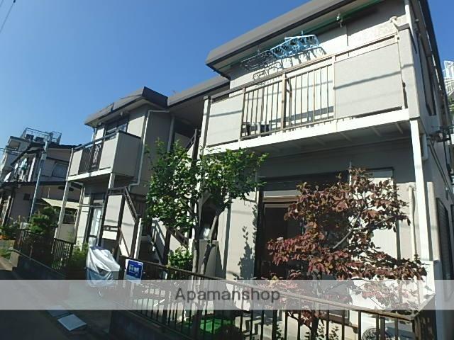 神奈川県川崎市中原区、武蔵中原駅徒歩16分の築26年 2階建の賃貸アパート