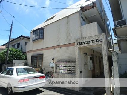 神奈川県川崎市中原区、多摩川駅徒歩17分の築29年 3階建の賃貸マンション