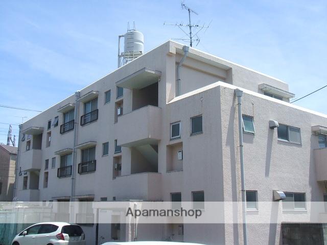 神奈川県川崎市中原区、平間駅徒歩15分の築40年 3階建の賃貸マンション