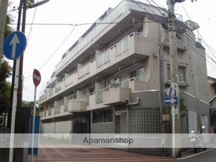 神奈川県川崎市中原区、武蔵中原駅徒歩17分の築30年 4階建の賃貸マンション