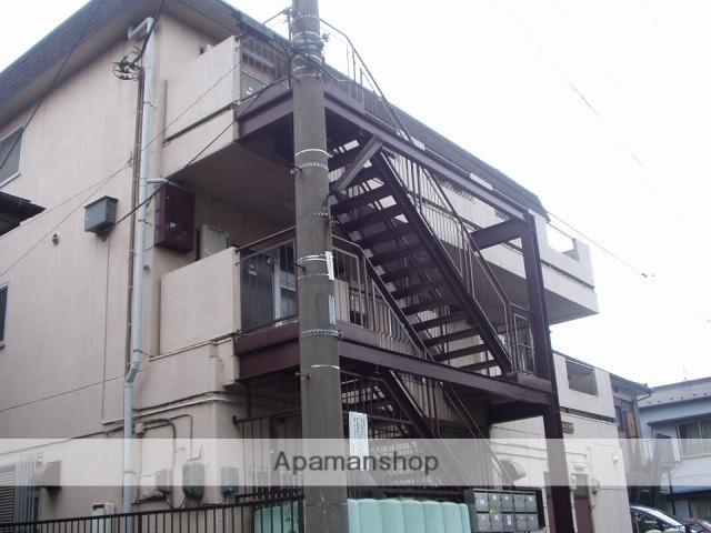 神奈川県川崎市幸区、鹿島田駅徒歩25分の築36年 3階建の賃貸マンション