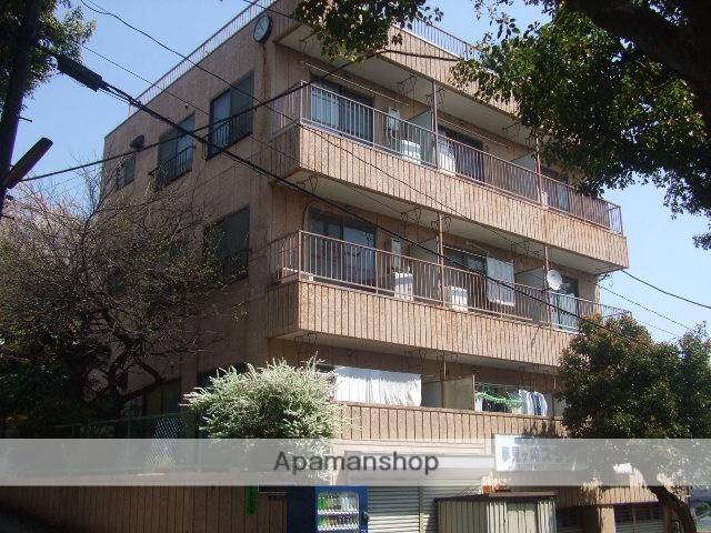 神奈川県川崎市幸区、鹿島田駅徒歩17分の築32年 3階建の賃貸マンション