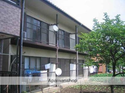 神奈川県川崎市中原区、武蔵小杉駅徒歩18分の築40年 2階建の賃貸アパート