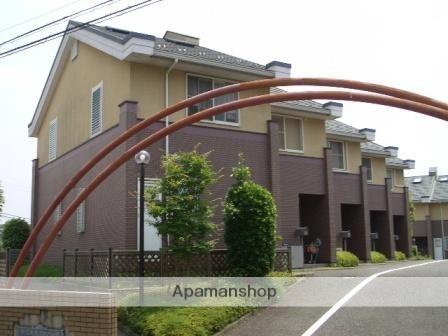 神奈川県横浜市青葉区、あざみ野駅徒歩8分の築20年 2階建の賃貸テラスハウス