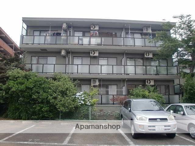 神奈川県横浜市青葉区、鷺沼駅徒歩35分の築20年 3階建の賃貸マンション