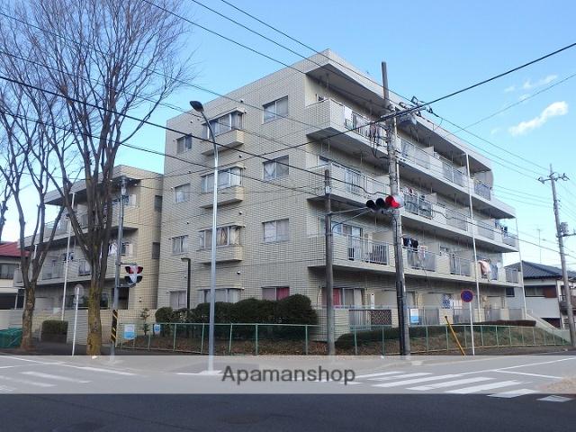 神奈川県横浜市青葉区、藤が丘駅徒歩23分の築31年 4階建の賃貸マンション