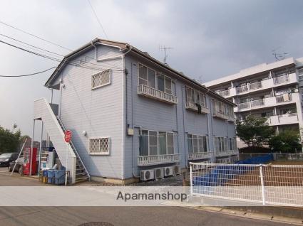 神奈川県川崎市高津区、津田山駅徒歩13分の築24年 2階建の賃貸アパート