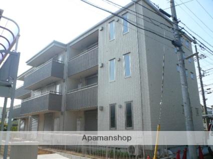 神奈川県横浜市青葉区、藤が丘駅徒歩17分の築10年 3階建の賃貸マンション