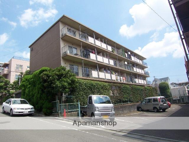 神奈川県川崎市高津区、溝の口駅徒歩20分の築36年 4階建の賃貸マンション