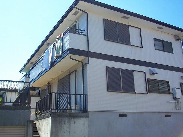 神奈川県川崎市宮前区、鷺沼駅徒歩3分の築21年 2階建の賃貸アパート