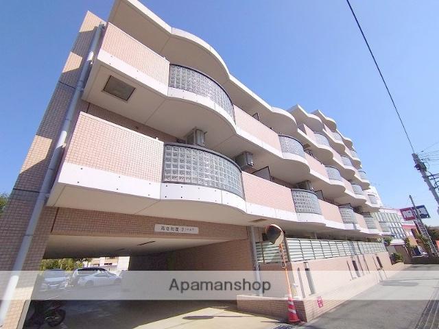 神奈川県川崎市高津区、津田山駅徒歩21分の築17年 5階建の賃貸マンション
