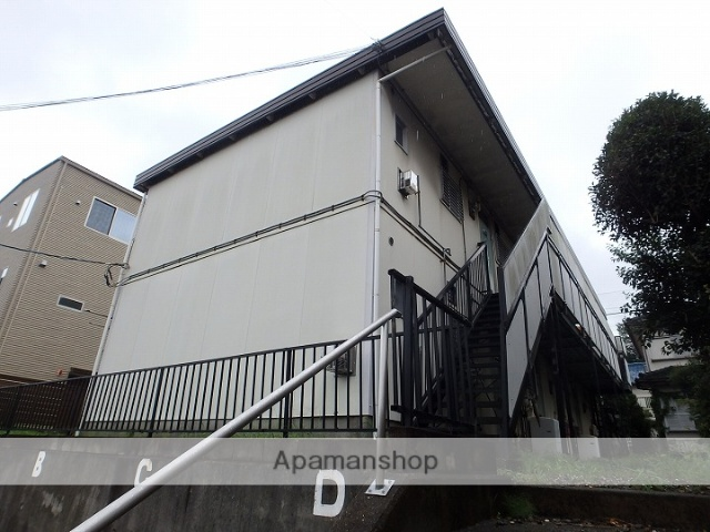 神奈川県川崎市宮前区、宮前平駅徒歩24分の築36年 2階建の賃貸アパート