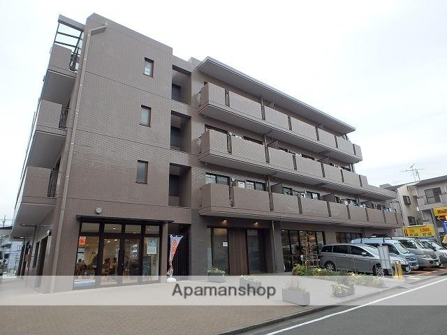 神奈川県横浜市青葉区、鷺沼駅徒歩18分の築25年 4階建の賃貸マンション