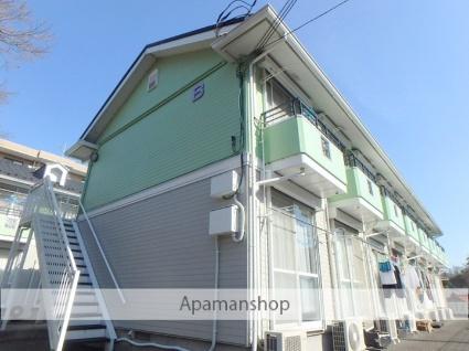 神奈川県横浜市青葉区、青葉台駅徒歩19分の築25年 2階建の賃貸アパート