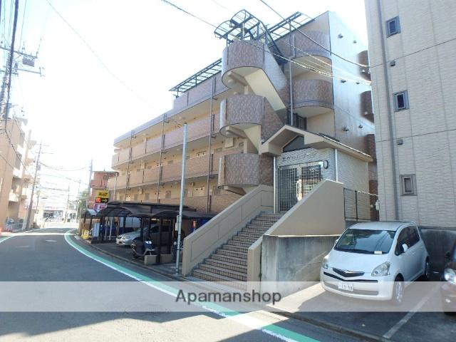 神奈川県横浜市青葉区、江田駅徒歩2分の築17年 4階建の賃貸マンション