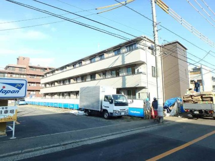 神奈川県川崎市宮前区、宮崎台駅徒歩12分の新築 3階建の賃貸アパート