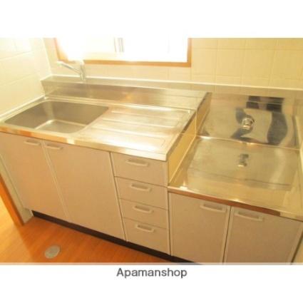 神奈川県横浜市青葉区しらとり台[1K/24m2]のキッチン
