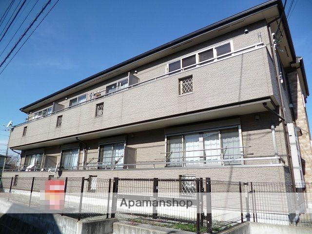 神奈川県横浜市青葉区、江田駅徒歩13分の築10年 2階建の賃貸アパート