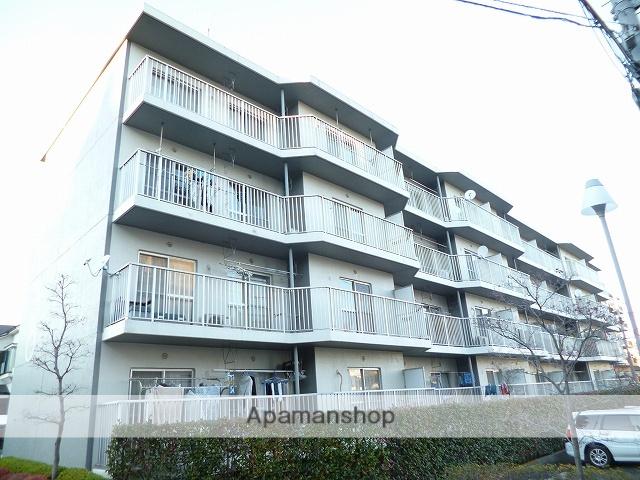 神奈川県横浜市青葉区、江田駅徒歩12分の築27年 4階建の賃貸マンション
