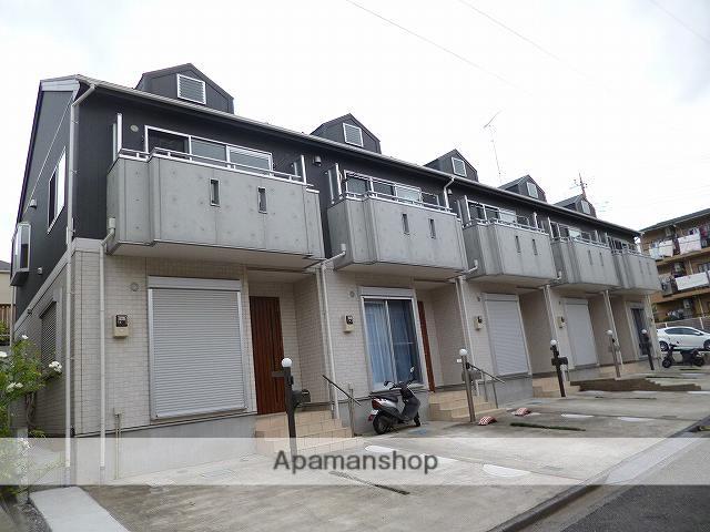 神奈川県川崎市高津区、溝の口駅徒歩22分の築7年 2階建の賃貸テラスハウス