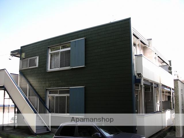 神奈川県川崎市宮前区、鷺沼駅徒歩15分の築39年 2階建の賃貸アパート