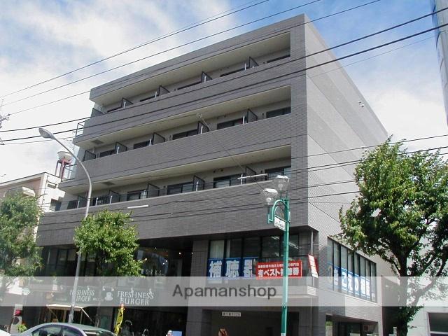 神奈川県横浜市青葉区、たまプラーザ駅徒歩20分の築25年 5階建の賃貸マンション