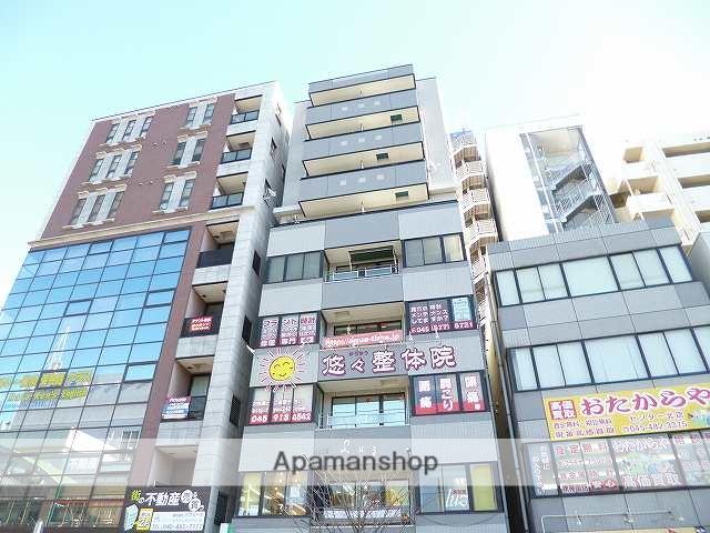 神奈川県横浜市都筑区、センター北駅徒歩1分の築20年 9階建の賃貸マンション