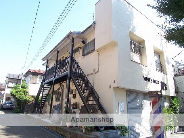 神奈川県川崎市宮前区、鷺沼駅徒歩13分の築40年 2階建の賃貸アパート