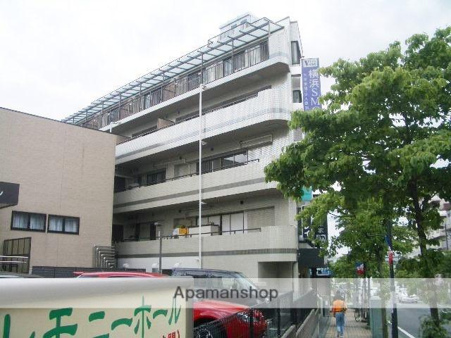 神奈川県横浜市青葉区、市が尾駅徒歩3分の築25年 5階建の賃貸マンション