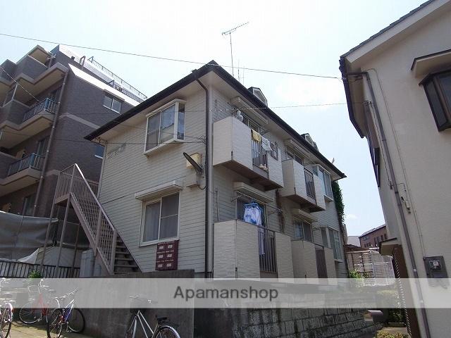 神奈川県横浜市青葉区、たまプラーザ駅徒歩21分の築27年 2階建の賃貸アパート