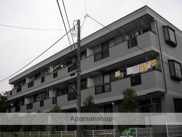 神奈川県横浜市青葉区、藤が丘駅徒歩12分の築23年 3階建の賃貸マンション