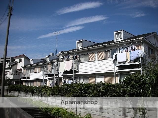 神奈川県川崎市宮前区、鷺沼駅徒歩9分の築30年 2階建の賃貸アパート