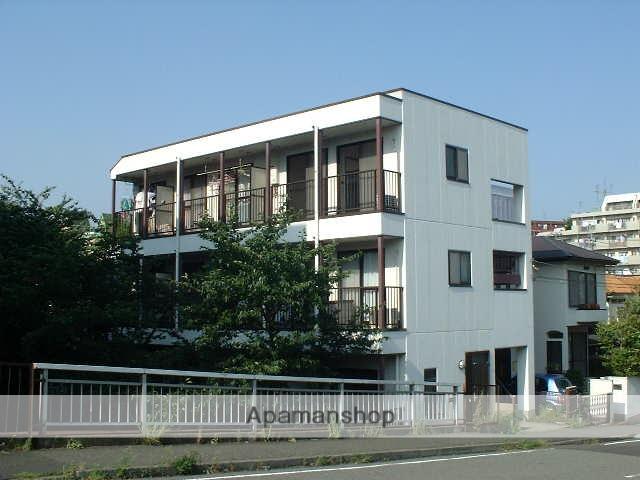 神奈川県横浜市青葉区、たまプラーザ駅徒歩9分の築23年 3階建の賃貸マンション