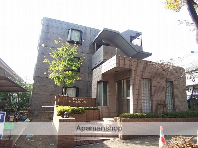 神奈川県川崎市宮前区、宮崎台駅徒歩2分の築19年 3階建の賃貸マンション