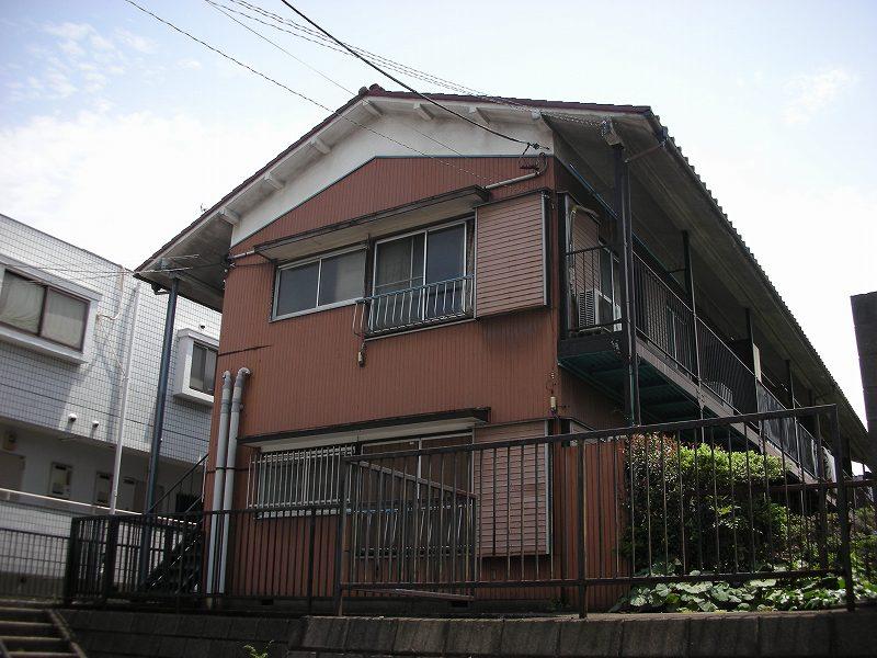 神奈川県川崎市宮前区、宮前平駅徒歩22分の築40年 2階建の賃貸アパート