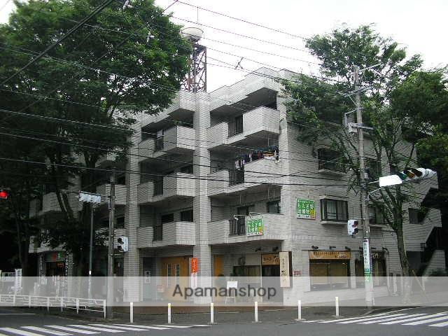 神奈川県横浜市青葉区、市が尾駅徒歩18分の築33年 4階建の賃貸マンション