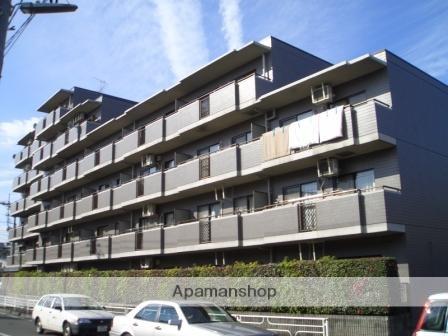 神奈川県横浜市青葉区、たまプラーザ駅徒歩13分の築23年 6階建の賃貸マンション