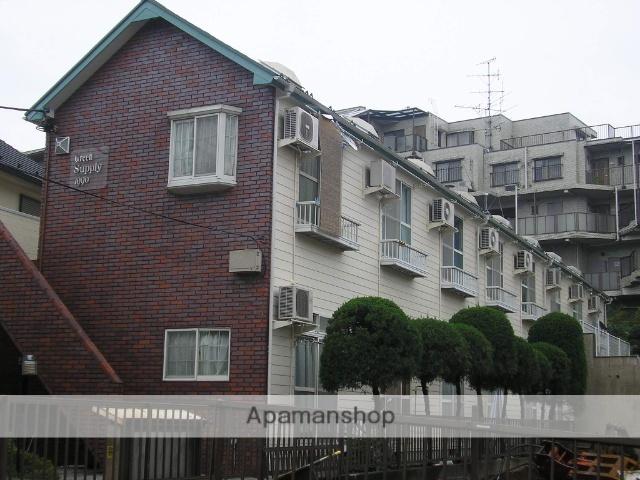神奈川県横浜市青葉区、市が尾駅徒歩21分の築28年 2階建の賃貸アパート