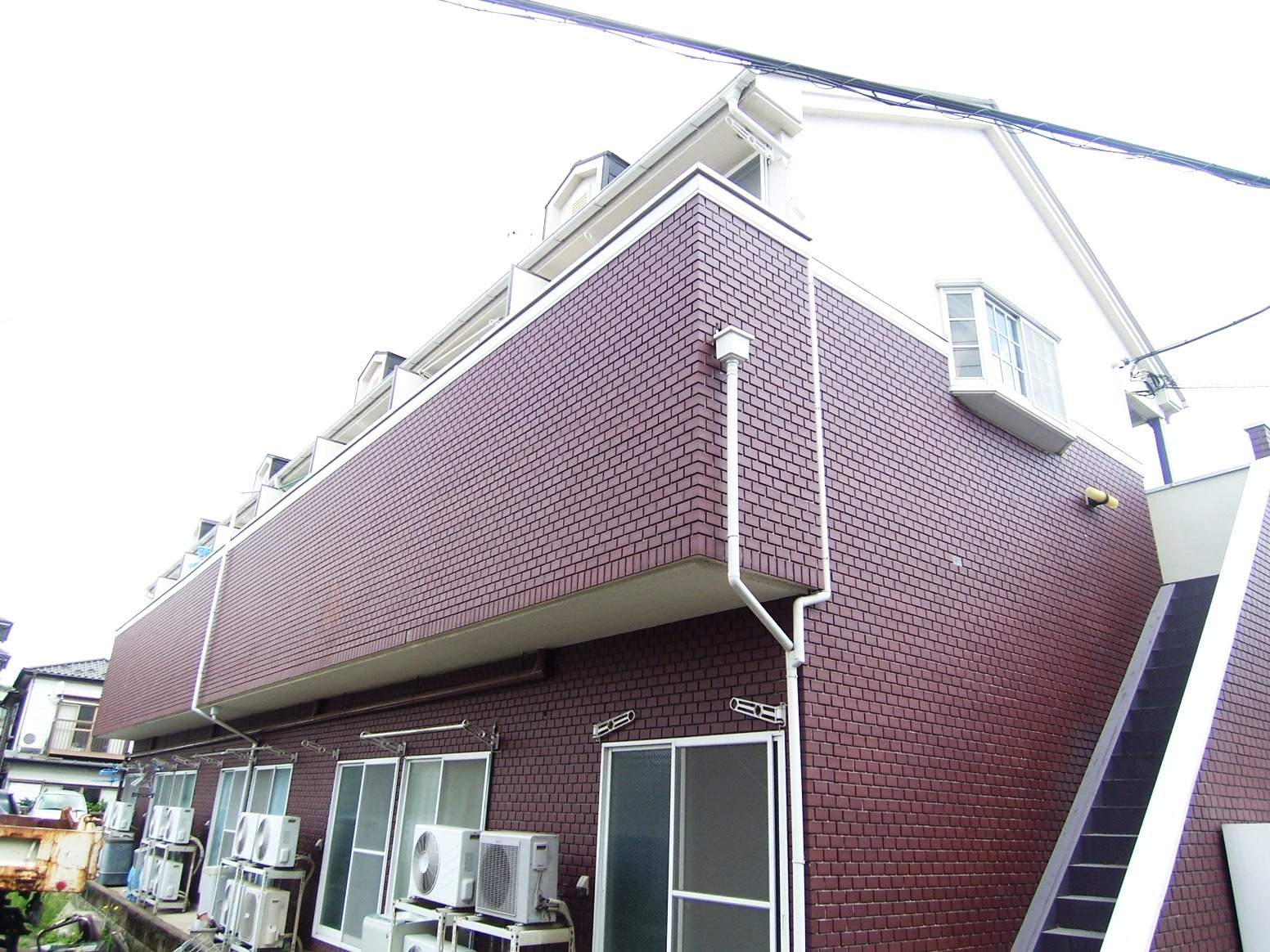 神奈川県川崎市高津区、梶が谷駅徒歩16分の築25年 2階建の賃貸アパート