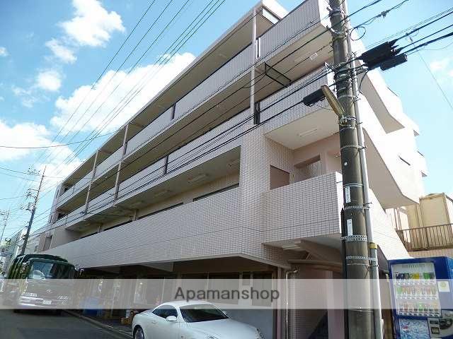 神奈川県横浜市青葉区、市が尾駅徒歩19分の築29年 4階建の賃貸マンション