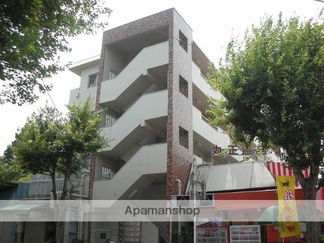 神奈川県川崎市宮前区、鷺沼駅徒歩15分の築40年 4階建の賃貸マンション