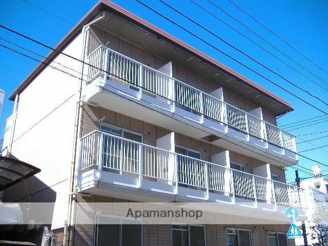 神奈川県横浜市鶴見区、八丁畷駅徒歩18分の築30年 3階建の賃貸マンション