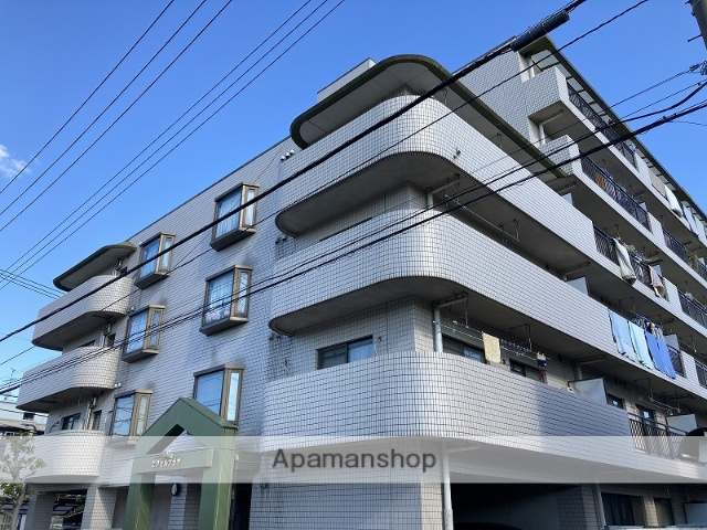 神奈川県横浜市鶴見区、尻手駅徒歩9分の築27年 6階建の賃貸マンション