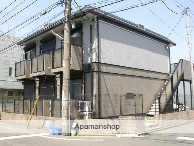神奈川県川崎市幸区、矢向駅徒歩17分の築16年 2階建の賃貸アパート