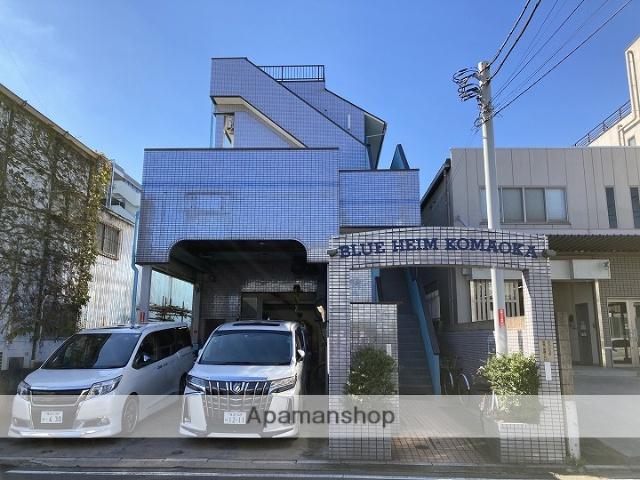 神奈川県横浜市鶴見区、鶴見駅バス19分一の瀬下車後徒歩2分の築25年 3階建の賃貸マンション