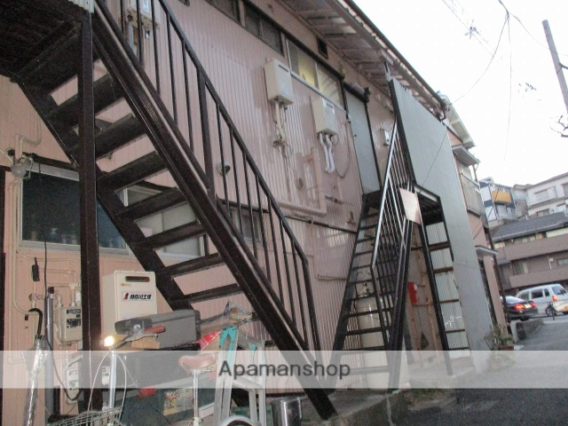 神奈川県横浜市神奈川区、大口駅徒歩11分の築47年 2階建の賃貸アパート