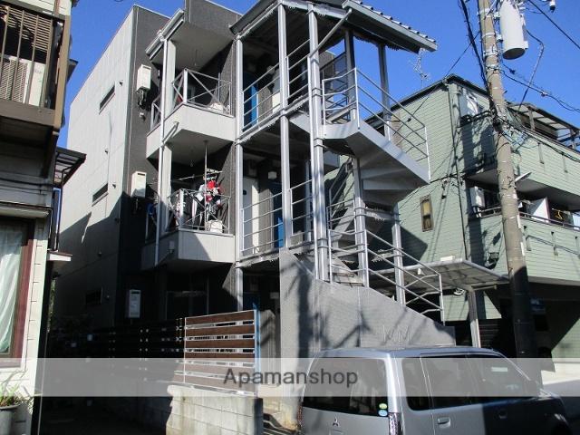 神奈川県川崎市川崎区、安善駅徒歩7分の築8年 3階建の賃貸アパート