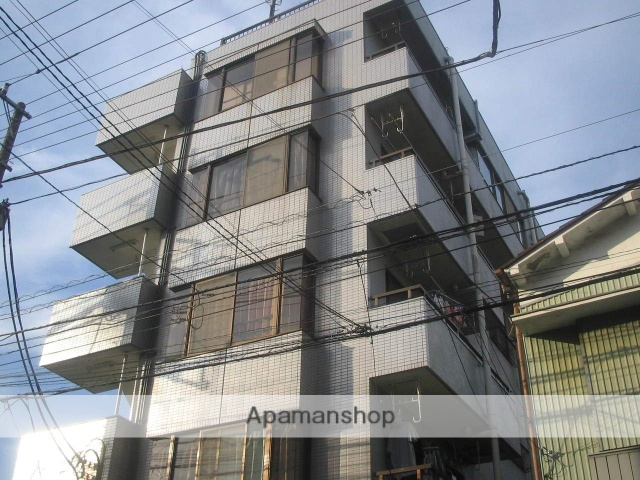 神奈川県横浜市鶴見区、鶴見駅徒歩16分の築27年 5階建の賃貸マンション