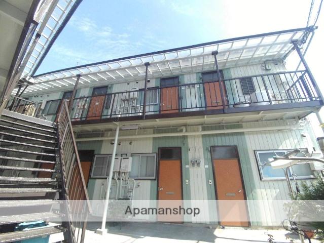 神奈川県横浜市神奈川区、新子安駅徒歩6分の築45年 2階建の賃貸アパート